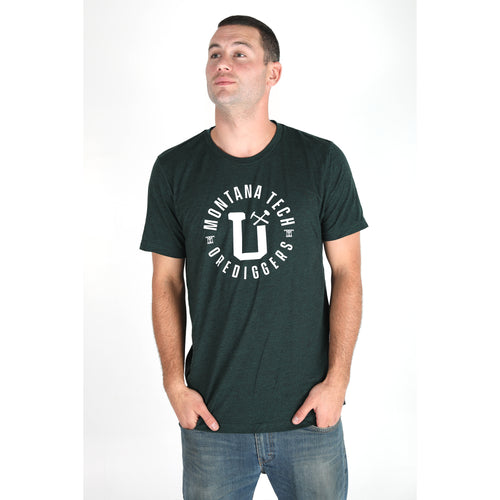 MONTANA TECH CAMPUS TRIBLEND TEE