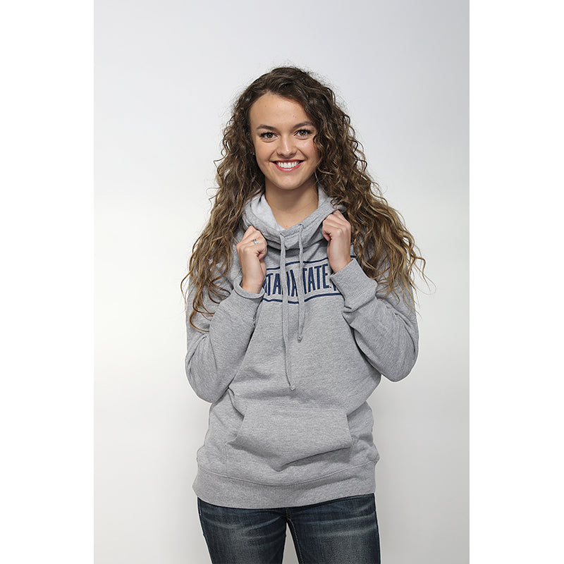 MONTANA STATE WOMEN'S FUNNEL HOODIE