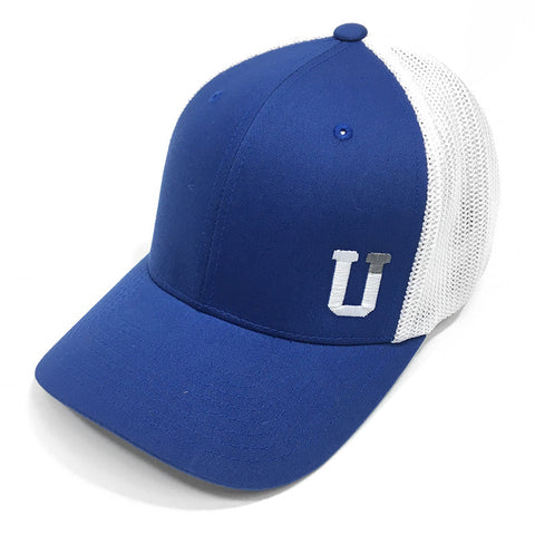 UPTOP CORNER UT FLEXFIT - ROYAL/WHITE