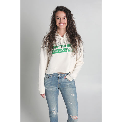 UPTOP IRISH TRADITION CROPPED HOODIE