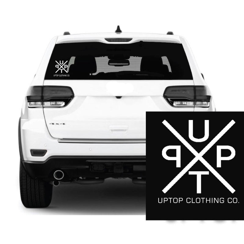 UPTOP X DECAL STICKER