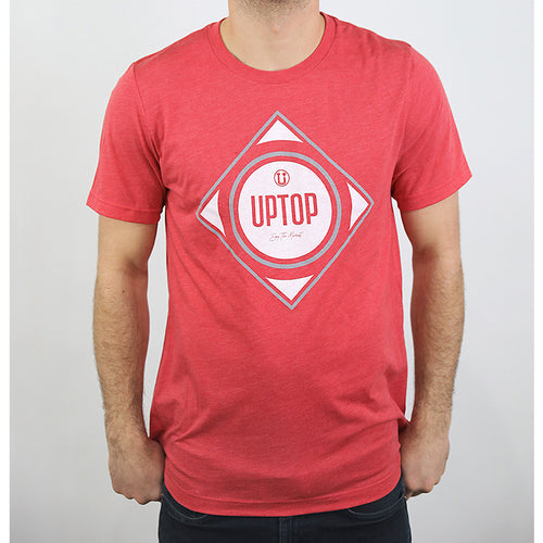 UPTOP DIAMOND TRIBLEND TEE