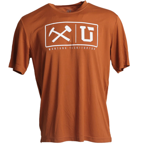 MONTANA TECH ENDZONE PERFORMANCE TEE