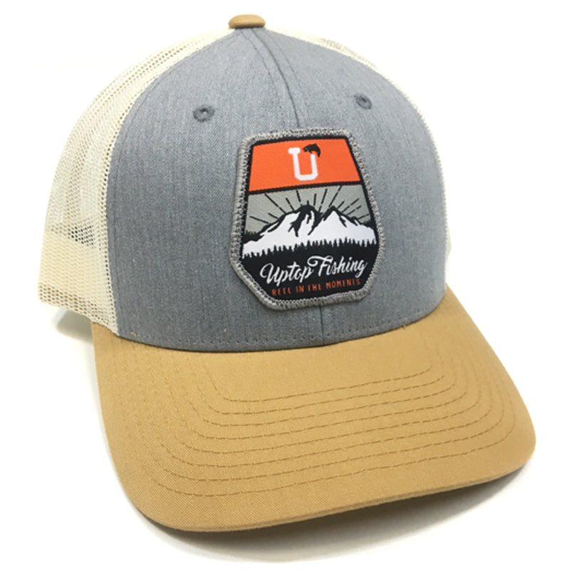 UPTOP FISHING LOW PROFILE TRUCKER HAT