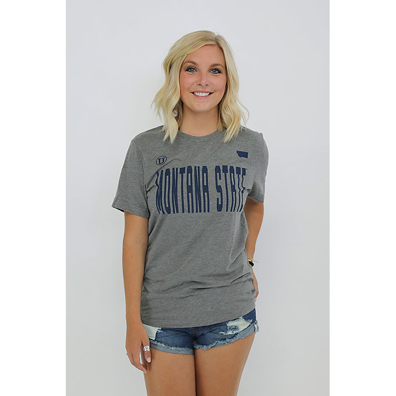 MONTANA STATE THE GREATEST BOYFRIEND UPTOP TEE