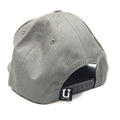 UPTOP Q3 5 PANEL SNAPBACK HAT - GREY/MAROON