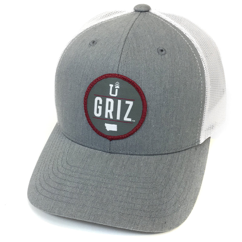 UPTOP GRIZ STADIUM RETRO TRUCKER HAT