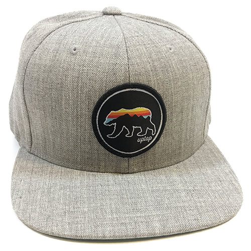 UPTOP GRIZZLY  SUNSET SNAPBACK HAT