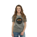 UPTOP GRIZZLY SUNSET BOYFRIEND TEE