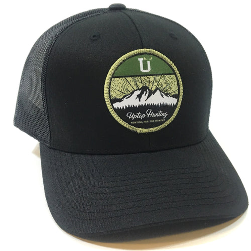 UPTOP HUNTING 2.0 RETRO TRUCKER HAT (PRE-CURVED)