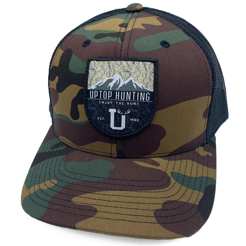 UPTOP HUNTING 5X RETRO TRUCKER HAT