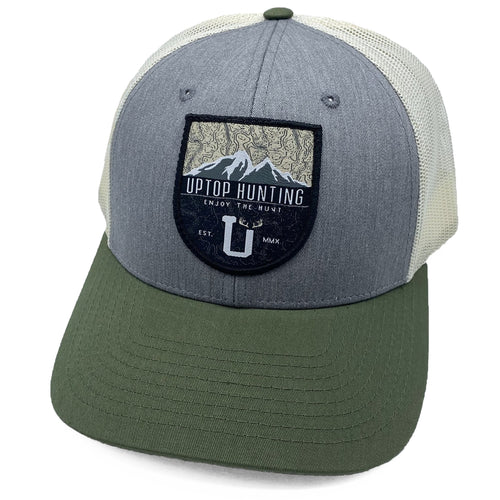 UPTOP HUNTING 5X LOW-PROFILE TRUCKER HAT