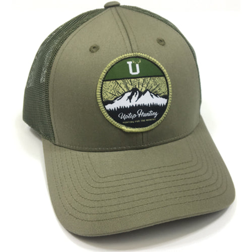 UPTOP HUNTING  LOW PROFILE TRUCKER HAT