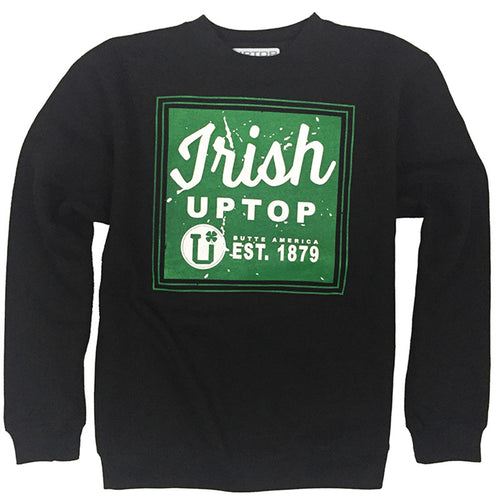 UPTOP IRISH CREW SWEATSHIRT