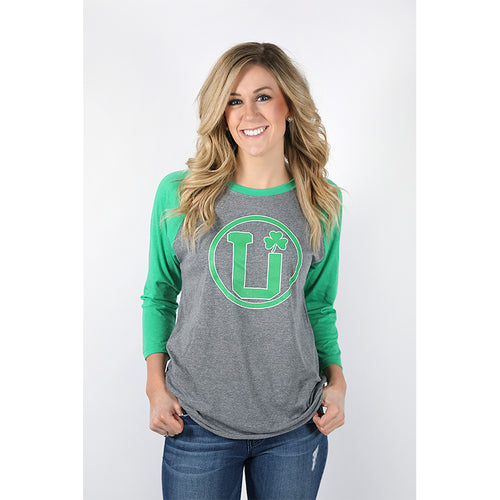 UPTOP IRISH WOMEN'S RAGLAN TEE