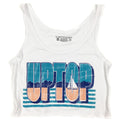 UPTOP LAKE DAYS BOXY CROP TANK