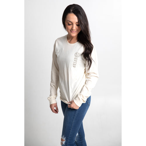 UPTOP / SOUTH MAIN LONG SLEEVE BOYFRIEND TEE