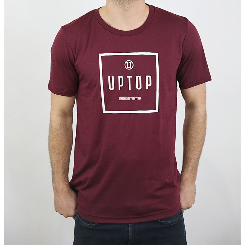 UPTOP SIMPLE TRIBLEND TEE