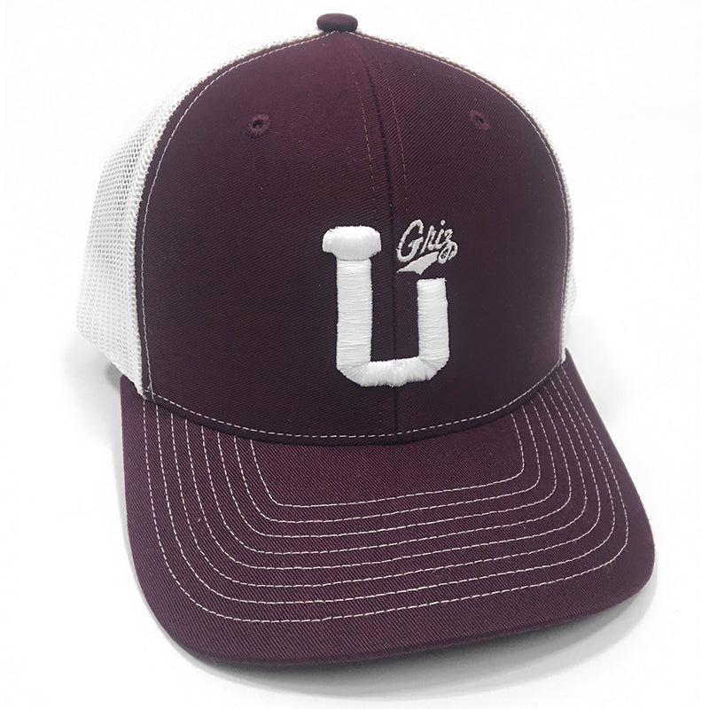 UPTOP U-GRIZ RETRO TRUCKER HAT