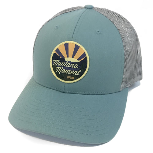 UPTOP MONTANA MOMENTS LOW PROFILE TRUCKER HAT