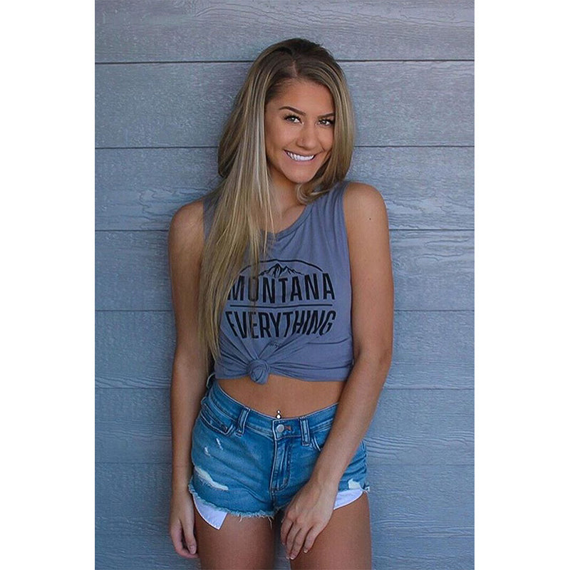 MONTANA OVER EVERYTHING SCENIC MUSCLE TEE