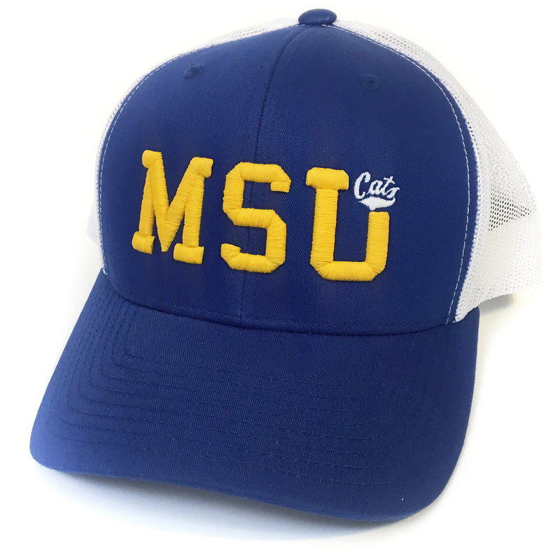 UPTOP / MSU CATS RETRO TRUCKER HAT