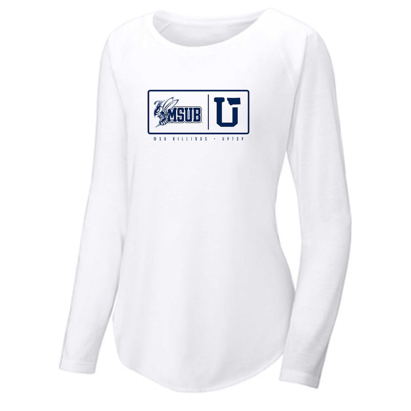 MSUB WOMEN'S ENDZONE LONG SLEEVE TEE