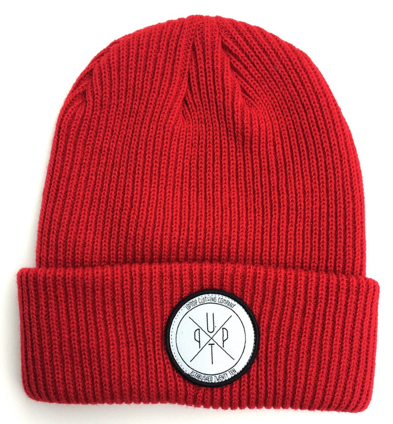 UPTOP QUINCY BEANIE - RED