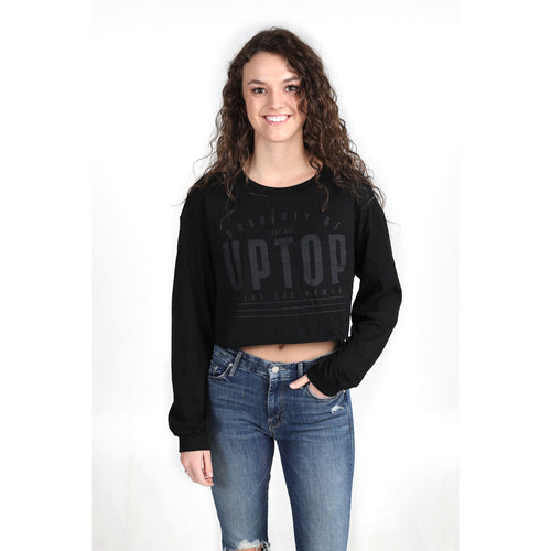 UPTOP PROPERTY CROPPED LONG SLEEVE