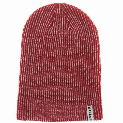 UPTOP YOUR WAY BEANIE - HEATHER RED