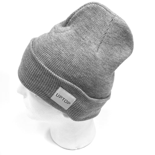 UPTOP SIMPLE BEANIE- GREY
