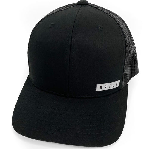 UPTOP SIMPLE CORNER RETRO TRUCKER HAT