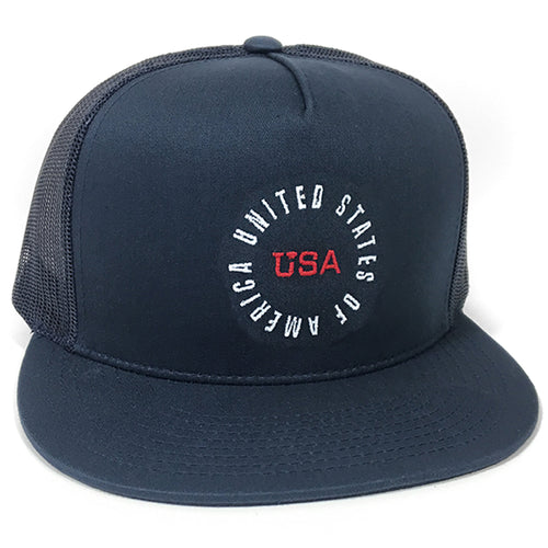 UPTOP U.S OF A TRUCKER HAT