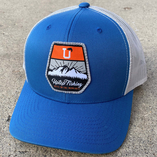 UPTOP FISHING 2.0 RETRO TRUCKER HAT(PRE-CURVED)