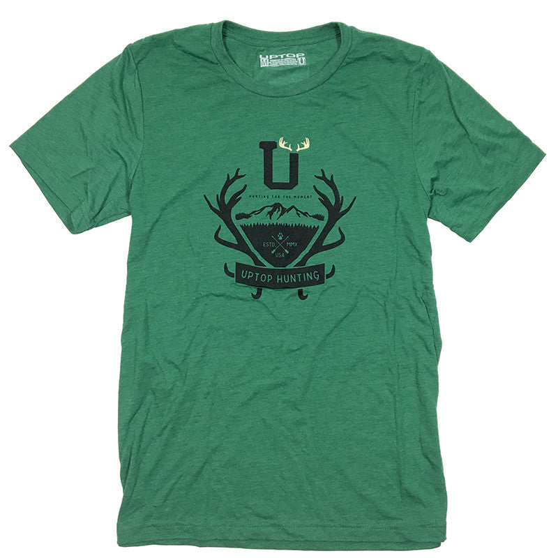 UPTOP HUNTING 2.0 TRIBLEND TEE - GREEN