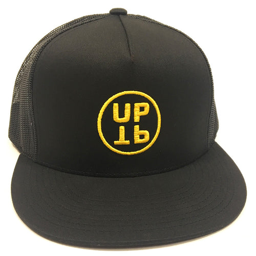 UPTOP UPTP TRUCKER HAT - BLACK/YELLOW