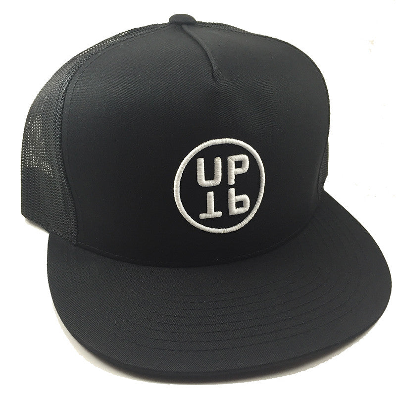 UPTOP UPTP TRUCKER HAT - BLACK