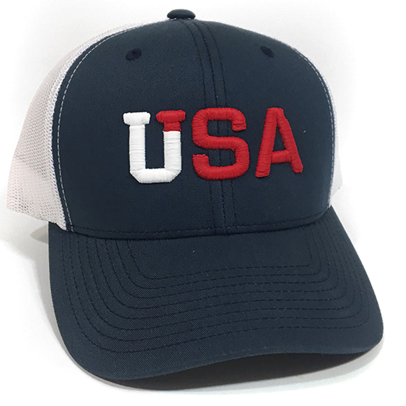 UPTOP TEAM USA RETRO TRUCKER HAT