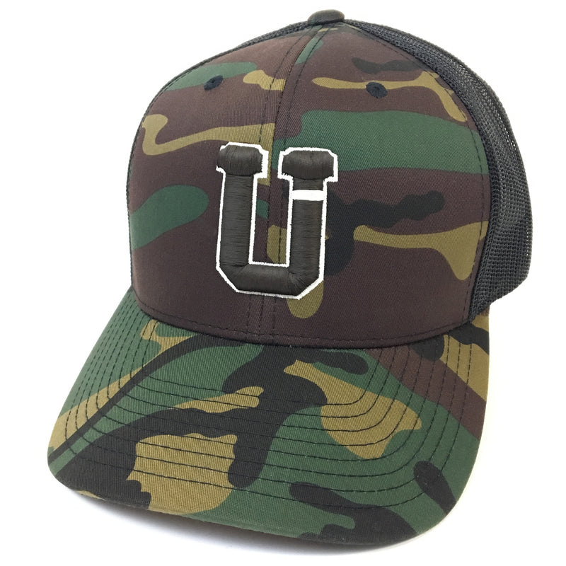 UPTOP SOLO BORDER RETRO TRUCKER HAT