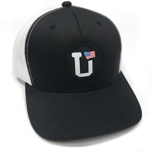UPTOP UT-MONTANA USA FLAG FLEXFIT HAT