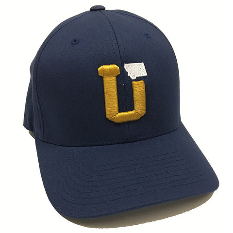 UPTOP UT MT FLEXFIT(SIZED) - NAVY/GOLD