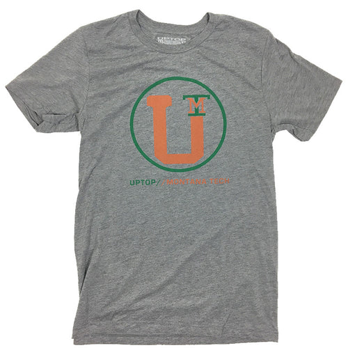 UPTOP MONTANA TECH TRIBLEND TEE - GREY