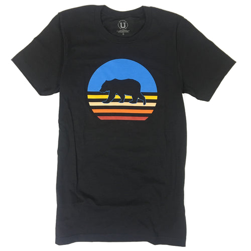 UPTOP WALKING SUNSET TRIBLEND TEE