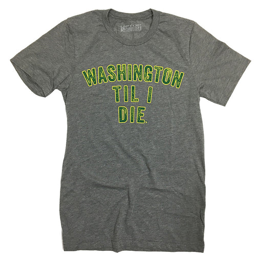 WASHINGTON TIL I DIE TRIBLEND TEE