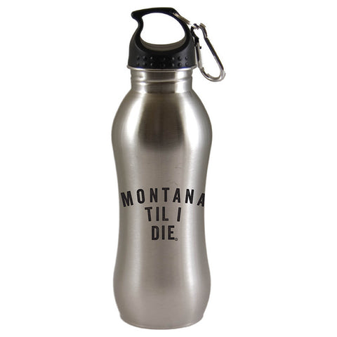 MONTANA TIL I DIE SUMMIT STAINLESS STEEL WATER BOTTLE