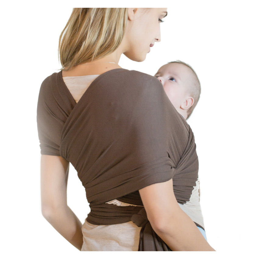 Breathable Modal Wrap - Tan/Brown