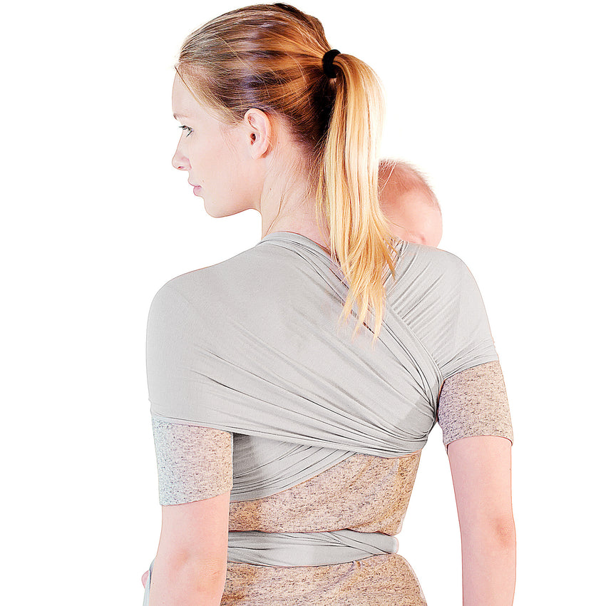 Breathable Modal Wrap - Grey/Pink