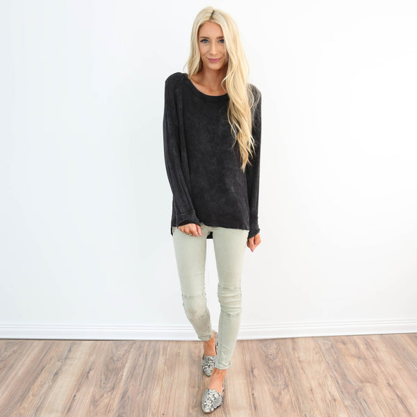 Belise Mineral Wash Sweater