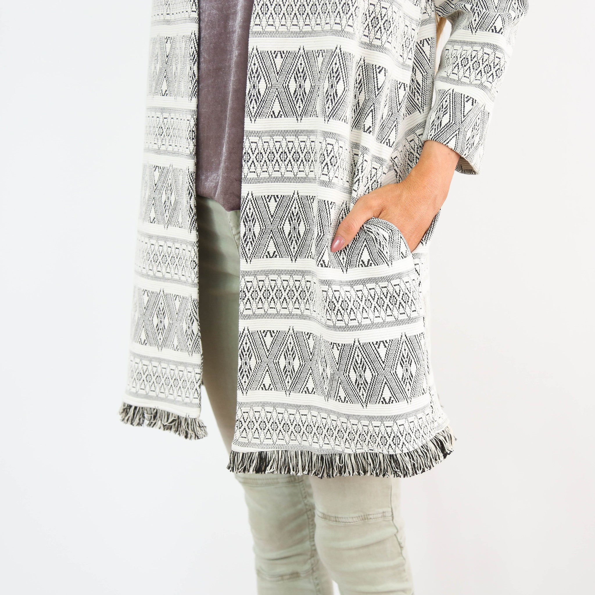 Silver Mountain Cardigan