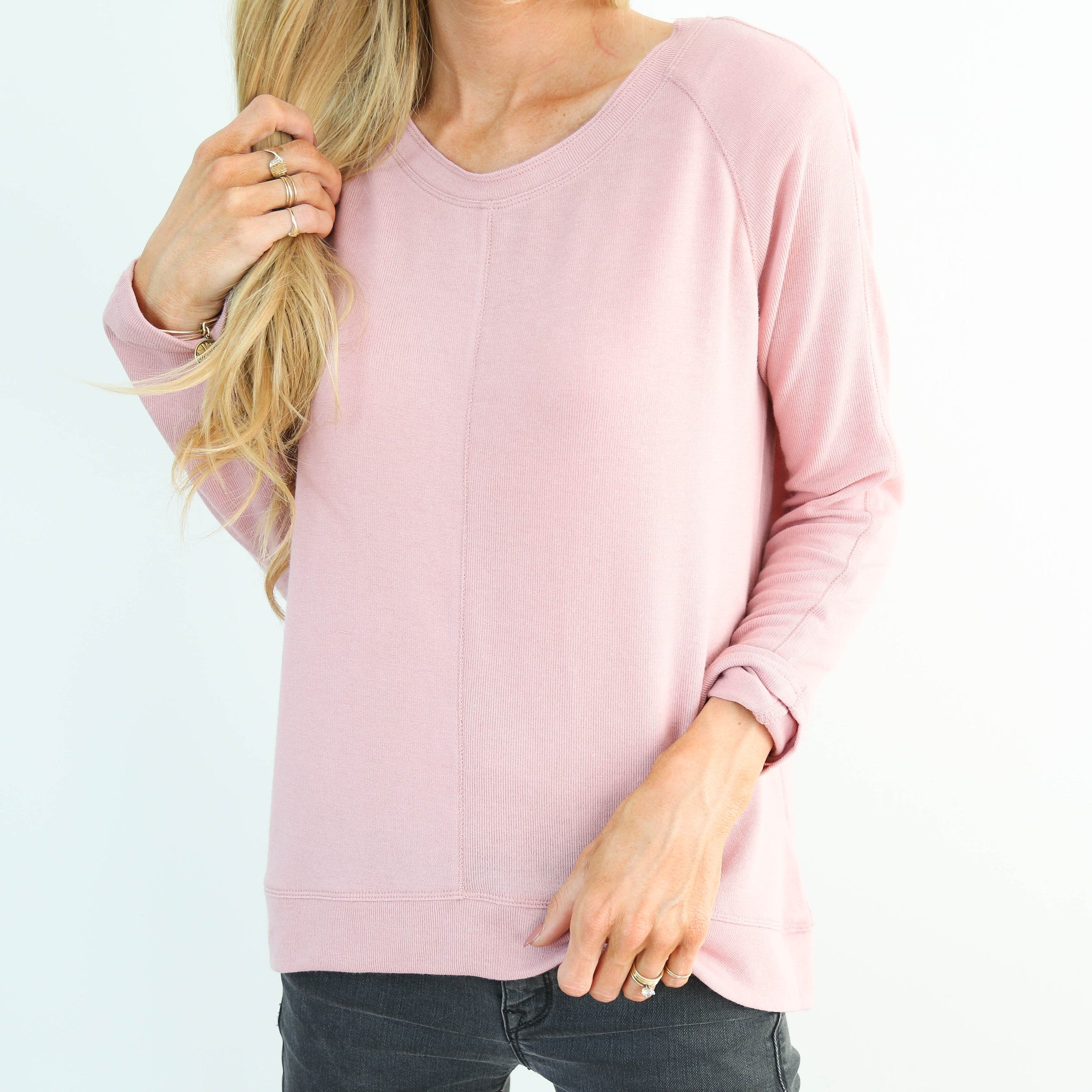 Abia Pink Sweater